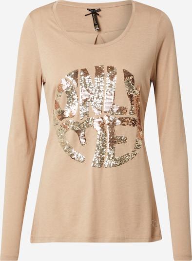 Key Largo Shirt 'DESIRE' in beige / rosegold, Produktansicht