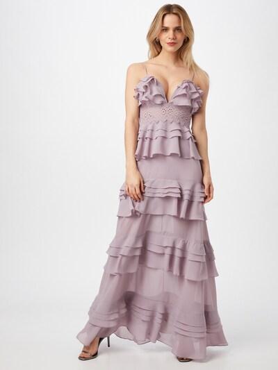 True Decadence Kleid in lila, Modelansicht