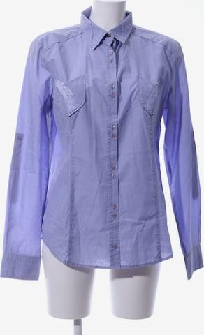 GAS Langarmhemd in XL in Blau