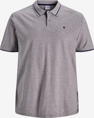 Jack & Jones Plus Shirt in de kleur Donkerblauw / Grijs gemêleerd, Productweergave