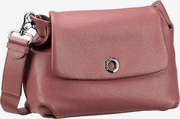 MANDARINA DUCK Umhängetasche ' Mellow Leather Small Shoulder Bag FZT31 ' in Rot