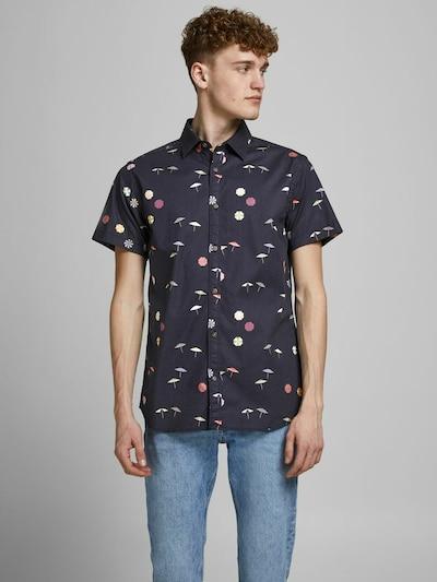 JACK & JONES Overhemd in de kleur Kobaltblauw / Gemengde kleuren: Vooraanzicht