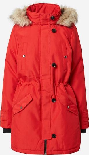 Žieminis paltas 'Excursion Expedition' iš VERO MODA , spalva - smėlio / raudona / juoda, Prekių apžvalga