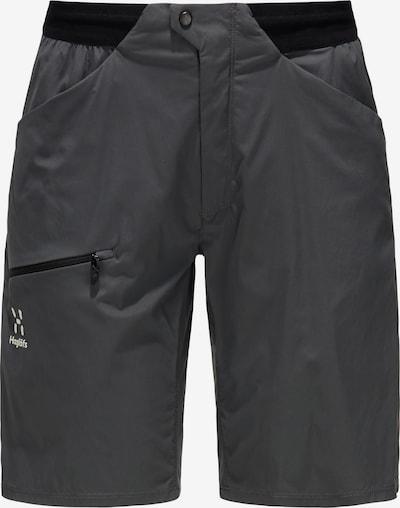 Haglöfs Outdoorhose 'L.I.M Fuse' in dunkelgrau / schwarz, Produktansicht