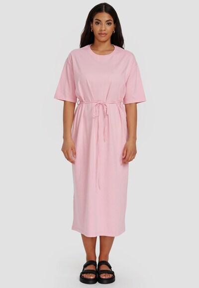 Cotton Candy Sweatkleid 'USRA' in rosa, Modelansicht