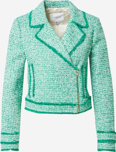 L.K.Bennett Blazer 'NICOLA' in mottled green / mottled white, Item view