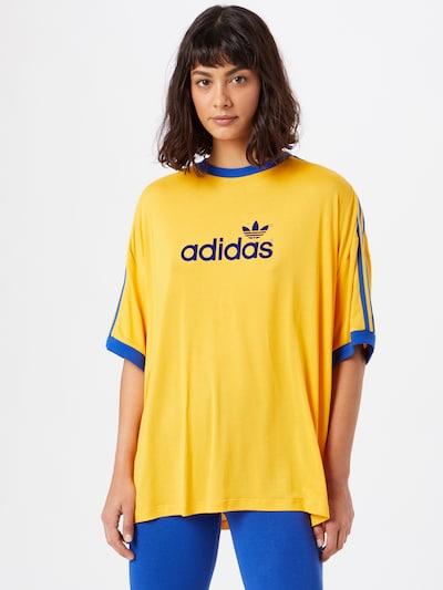 Maglietta ADIDAS ORIGINALS di colore blu / giallo: Vista frontale
