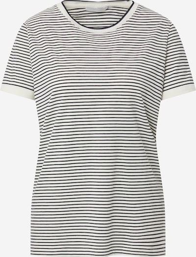 BOSS Casual T-shirt 'Emasa' en bleu nuit / blanc, Vue avec produit