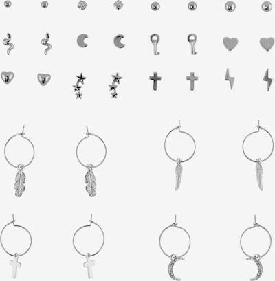 PIECES Øreringe 'Ama' i sølvgrå, Produktvisning