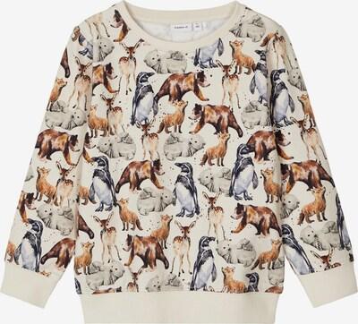 NAME IT Sweatshirt 'SEWILO' in beige / mischfarben, Produktansicht