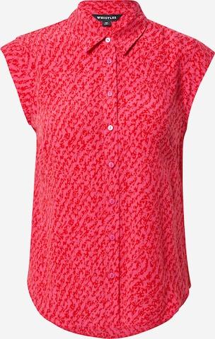 Whistles Bluse i rød