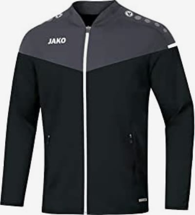 JAKO Jacke 'Champ 2.0' in grau / schwarz, Produktansicht