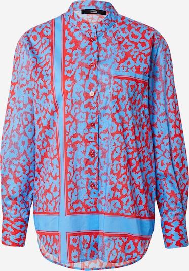 STEFFEN SCHRAUT Bluse 'Loulou' in hellblau / rot, Produktansicht