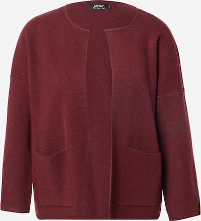 ONLY Knit Cardigan 'NEW DALLAS' in Burgundy, Item view