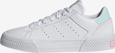 ADIDAS ORIGINALS Sneaker 'Court Tourino' in pastellgrün / hellpink / weiß, Produktansicht