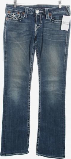 True Religion Boot Cut Jeans in 27-28 in blau: Frontalansicht