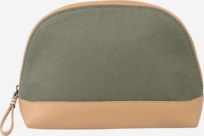 ESPRIT Kosmētikas somiņa gaiši bēšs / olīvzaļš, Preces skats