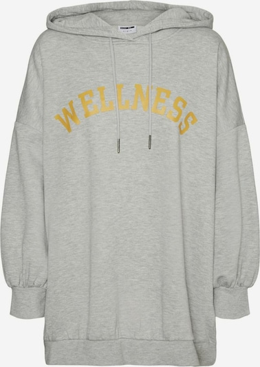 Noisy may Sweatshirt in gold / graumeliert, Produktansicht