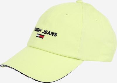 Tommy Jeans Kapa | marine / limeta / rdeča / bela barva, Prikaz izdelka