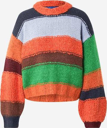 Résumé Pullover 'Galeb' in Mischfarben