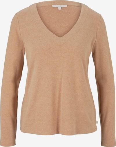 TOM TAILOR DENIM T-shirt en noisette, Vue avec produit