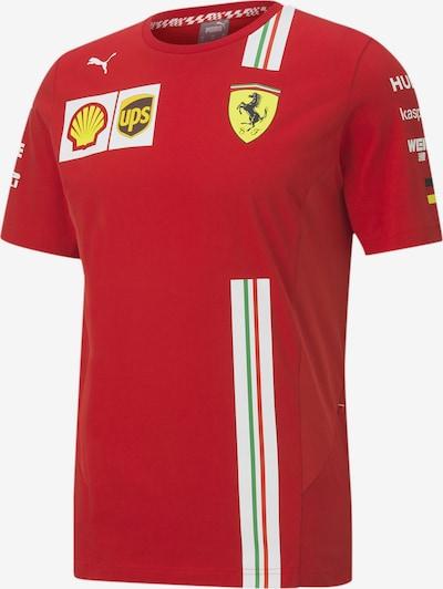 PUMA Shirt 'Ferrari Vettel' in feuerrot, Produktansicht