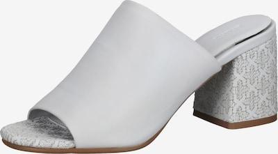 BRONX Pantolette in hellgrau / weiß, Produktansicht