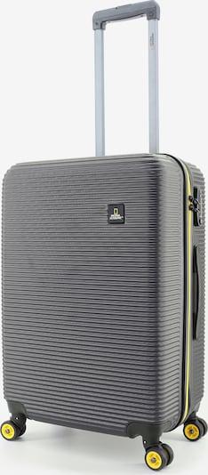 National Geographic Koffer 'Abroad' in gelb / grau, Produktansicht