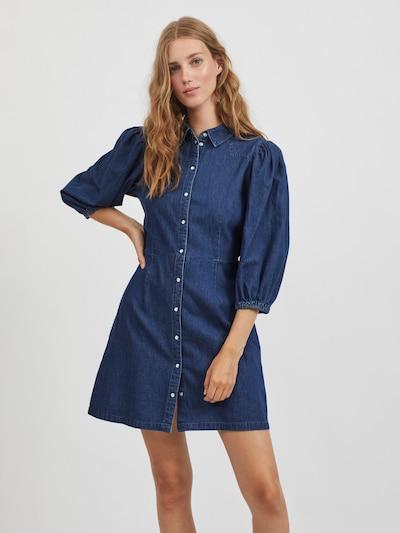 VILA Shirt Dress 'Toma Daizy' in Dark blue, View model