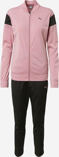 PUMA Trainingsanzug in rosa / schwarz, Produktansicht