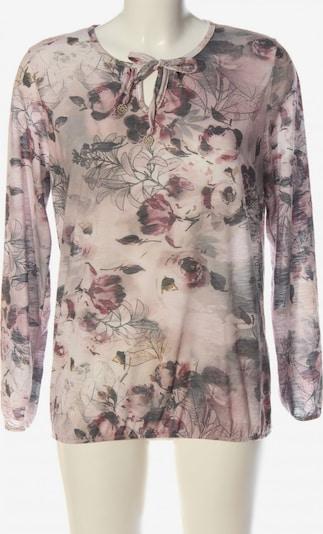 SURE Schlupf-Bluse in L in hellgrau / pink, Produktansicht