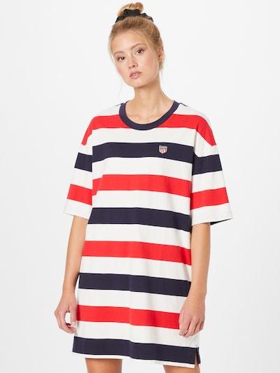 GANT Kleid in marine / rot / weiß, Modelansicht
