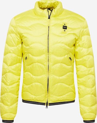 Blauer.USA Přechodná bunda - tmavě modrá / žlutá / bílá, Produkt