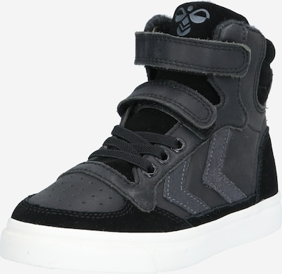 Hummel Sneakers 'STADIL OILED' in anthracite / black, Item view