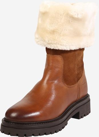 GEOX Snowboots 'Iridea' in Bruin