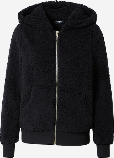 ONLY Fleece Jacket 'CAROLINE' in Black, Item view