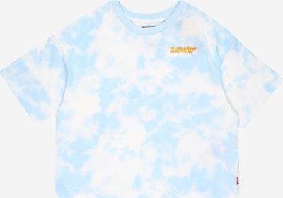 LEVI'S Shirt 'HIGHRISEJORDI' in Light blue / Yellow / Red / White, Item view