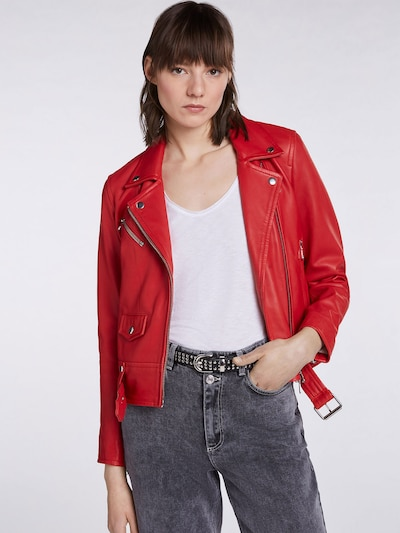 SET Jacke in rot: Frontalansicht