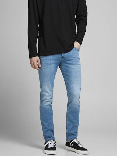JACK & JONES Jeans 'Tim' in de kleur Blauw denim, Modelweergave