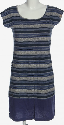 Ragwear Kurzarmkleid in S in creme / blau / schwarz, Produktansicht