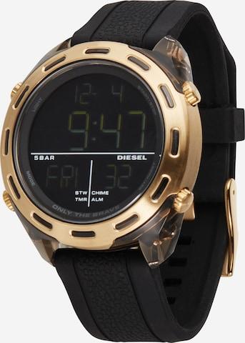 DIESEL Digital Watch 'Crusher' in Black