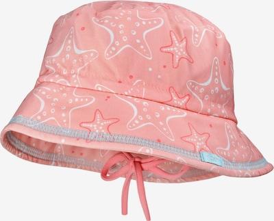 Pălărie MAXIMO pe albastru deschis / portocaliu somon / roz / alb, Vizualizare produs