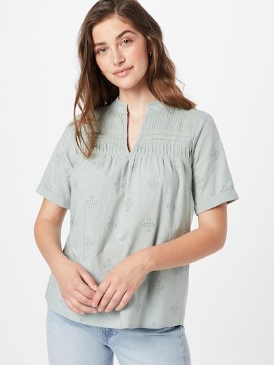Bluză 'TOBIAS' Maison 123 pe verde mentă, Vizualizare model