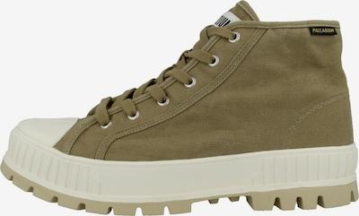 Palladium Boots in oliv / weiß, Produktansicht