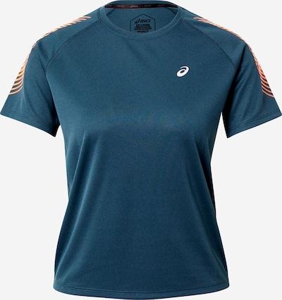 ASICS T-shirt fonctionnel en bleu foncé / corail, Vue avec produit