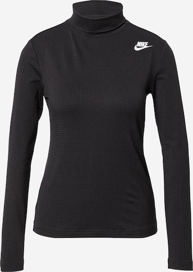 Maglietta Nike Sportswear di colore nero / bianco, Visualizzazione prodotti