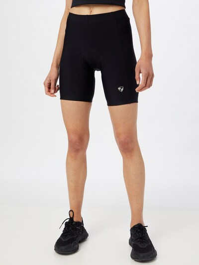 ZIENER Sporthose 'NAIRA X-FUNCTION' in schwarz: Frontalansicht