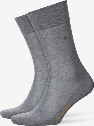BURLINGTON Socken in grau: Frontalansicht