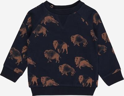 Noppies Sweatshirt 'Roanoke' in dunkelblau / braun, Produktansicht