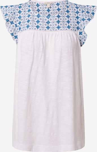 Tricou ESPRIT pe albastru regal / alb, Vizualizare produs
